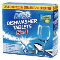 Dishwasher Tablets 5 in 1 Lemon Fragrance