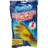Household Gloves Large pack of 2 pairs