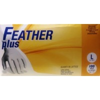 Latex Gloves Large, pack of 100