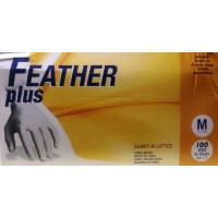 Latex Gloves Medium, pack of 100