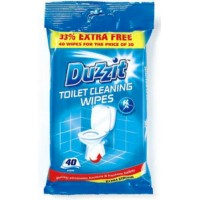 Toilet Cleaning Wipes pack of 40