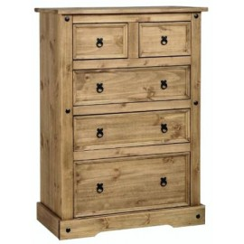 Corona Pine 3 Plus 2 Drawer Chest