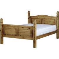 Corona Pine Double Bed 4ft 6in