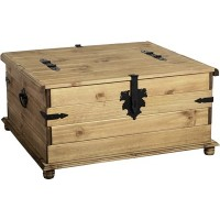 Corona Pine Double Storage Chest