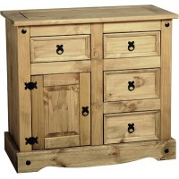 Corona Pine Sideboard 3ft