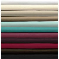 Cotton Sheets King Size Fitted 152 x 203 cm