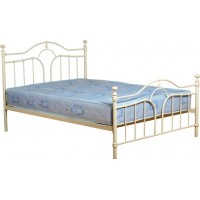 Keswick Double Bed Cream 4ft 6in