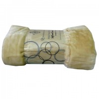 Cream Mink Faux Fur Throw 150 x 200 cm