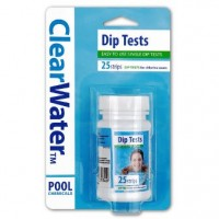 ClearWater Pool Dip Test For Chlorine 25 Strips