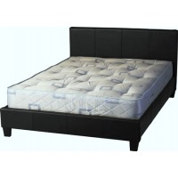 Prado Double Bed 4ft 6in in Black
