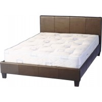 Prado Double Bed 4ft 6in in Brown