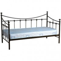 Torino Day Bed Black 3ft 3in